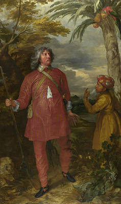 Stand Painting - William Feilding, 1st Earl Of Denbigh by Anthony van Dyck