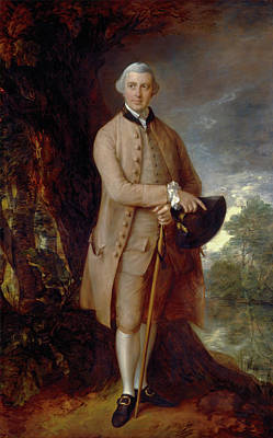 Male Painting - William Johnstone-pulteney by Thomas Gainsborough