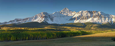 Art Print featuring the photograph Wilson Peak Panorama by Aaron Spong