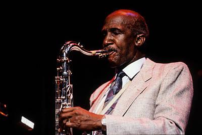 Saxophon Photograph - Wilton Felder by Lindy Pollard
