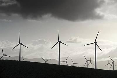 Tarifa Photograph - Wind Turbines by Chris Knapton