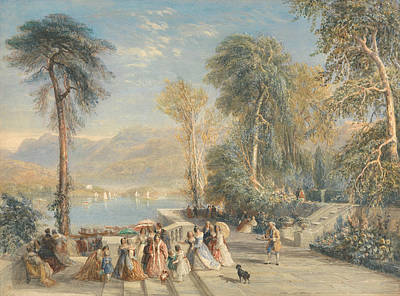 Painting - Windermere During The Regatta by David Cox