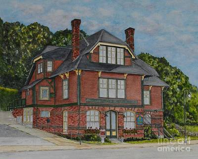Painting - Windham Textile And History Museum by Michelle Welles