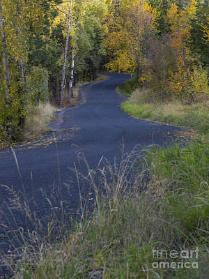 Photograph - Winding Road by Idaho Scenic Images Linda Lantzy