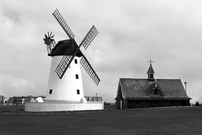 Photograph - Windmill At Lytham St. Annes - England by Doc Braham