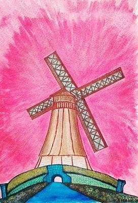 Painting - Windmill by Jesus Nicolas Castanon