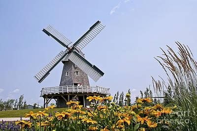 Windmill Art Print by Teresa Zieba
