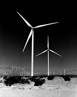 Photograph - Windmills by Alex Snay