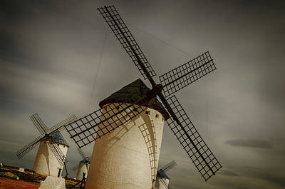 Photograph - Windmills At Campo De Criptana by Pablo Lopez