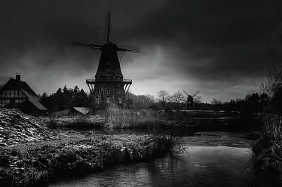 Photograph - Windmills Of Gifhorn by Kordi Vahle