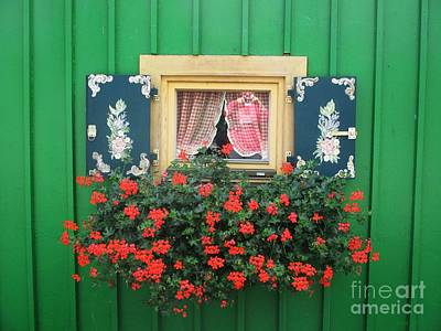 Photograph - Window In Starnberg by Chani Demuijlder