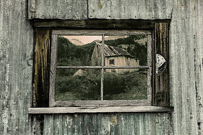 Photograph - Window Of The Past 2017 by Fred Denner