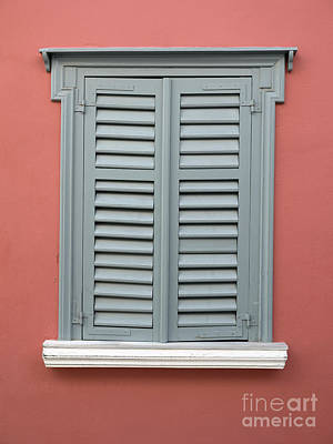 Photograph - Window With Traditional Architecture In Plaka by George Atsametakis