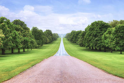 Windsor Castle - Long Walk Art Print