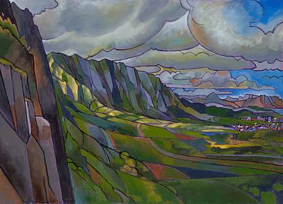 Kailua Painting - Windward Passage by Douglas Simonson
