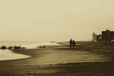 Photograph - Windy Seashore Stroll by Pixabay