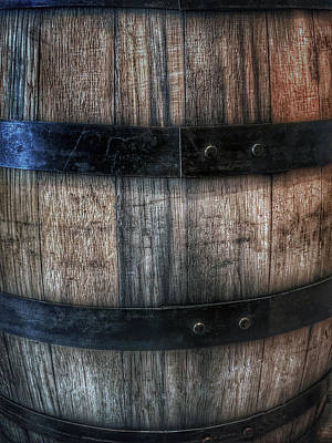 Photograph - Wine Barrel by Bill Owen