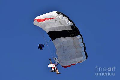 Photograph - Wingsuiters Of Skydive Attica  by George Atsametakis