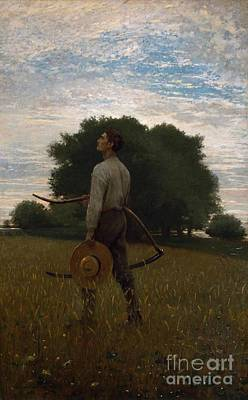 Larks Painting - Winslow Homer by MotionAge Designs