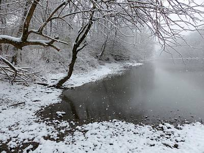 Wall Art - Photograph - Winter Along The Scioto by Robert Papps