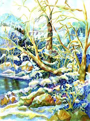 Painting - Winter by Ann Nicholson