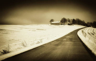 Photograph - Winter Drive - Norway by Unsplash