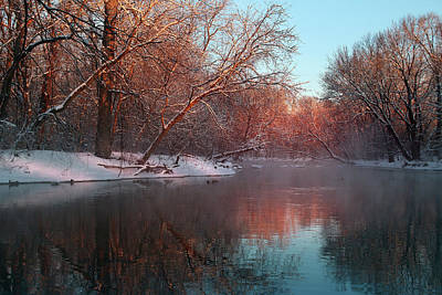 Photograph - Winter Glow by Rob Blair