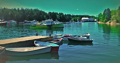 Photograph - Winter Harbor by Lisa Dunn