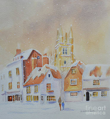 Winter In Tenterden Art Print