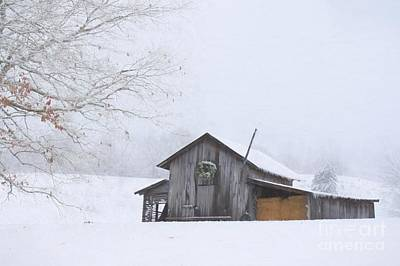 Photograph - Winter In West Virginia by Benanne Stiens