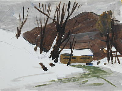 Painting - Winter by Len Stomski