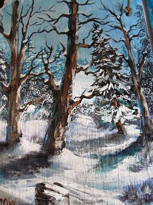 Painting - Winter by Megan Walsh