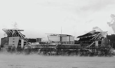 Photograph - Winter Morning - Paul Brown Stadium, Cincinnati by Pixabay