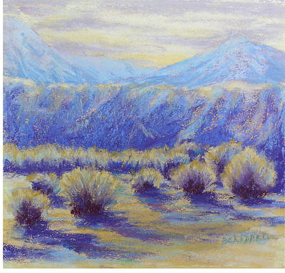 Painting - Winter Morning Riverbend by Becky Chappell