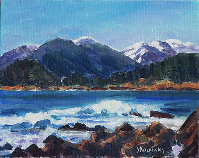 Winter Mountains Alaska Original