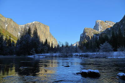 Winter Of Yosemite Art Print
