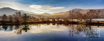 Lenticular Photograph - Winter Reflections by Adrian Evans