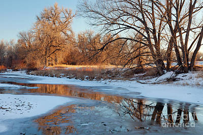 Photograph - Winter River by Marek Uliasz