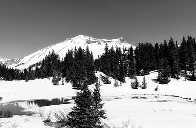 Photograph - Winter Scene In The Colorado San Juan Mountains by Loc