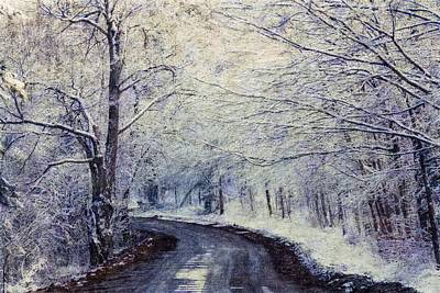 Photograph - Winter Scene by John Stuart Webbstock