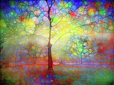 Digital Art - Winter Solstice by Tara Turner