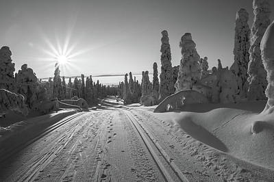 Photograph - Winter Spires by Andreas Dobeli