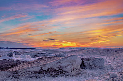 Photograph - Winter Sunset by Gary McCormick