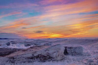 Photograph - Winter Sunset by Gary McCormick
