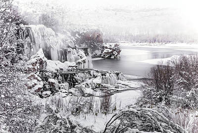 Photograph - Winter Textures by Leland D Howard