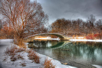 Elizabeth Park Trenton Photograph - Winter Tranquility by James Marvin Phelps