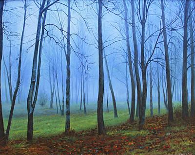 Winter Trees Original by Conor McGuire