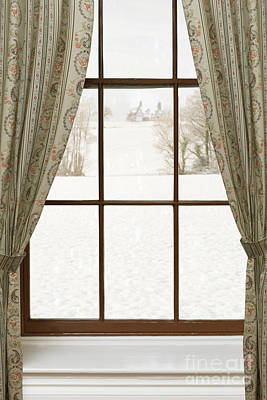 Manor Wall Art - Photograph - Winter Window by Amanda Elwell