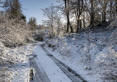 Photograph - Winter Wonderland In Central Scotland by Jeremy Lavender Photography