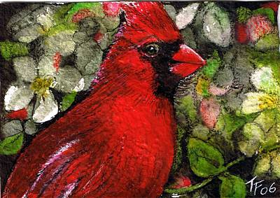 Winterbird Art Print by Terri Kilpatrick